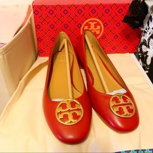 Tory Burch Heeled ballet flat